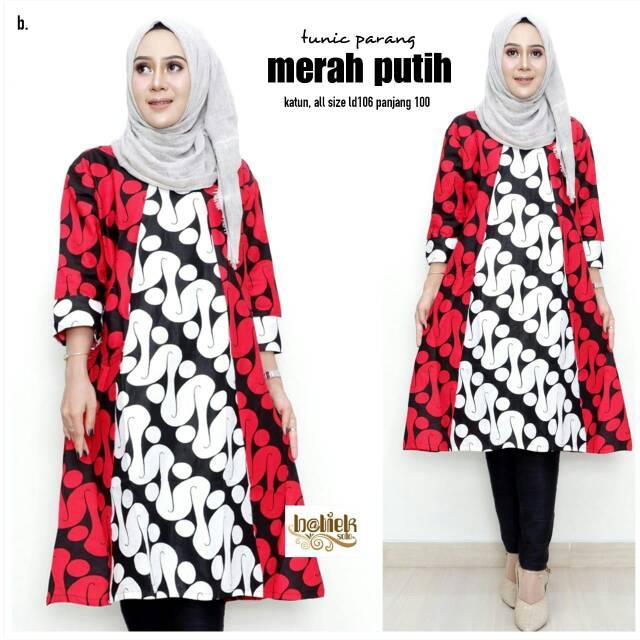 65148 wahyuni dress tunic baju batik murah atasan muslim wanita murah.  Source · 9e8d149ae3