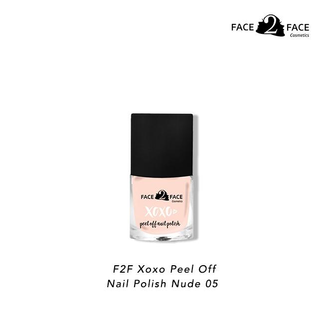 Nail Polish Arti Indonesia: FACE 2 FACE Xoxo Peel Off Nail Polish 05