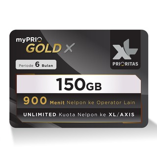 Kartu Perdana Pascabayar Xl Prioritas Gold X 50gb 300mnt 2 Bln Shopee Indonesia