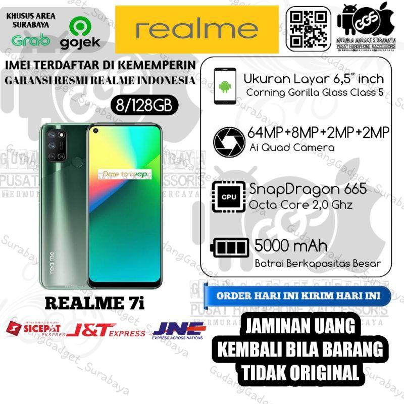 Realme 7i (8GB+128GB) Original Bergaransi Resmi Realme Indonesia