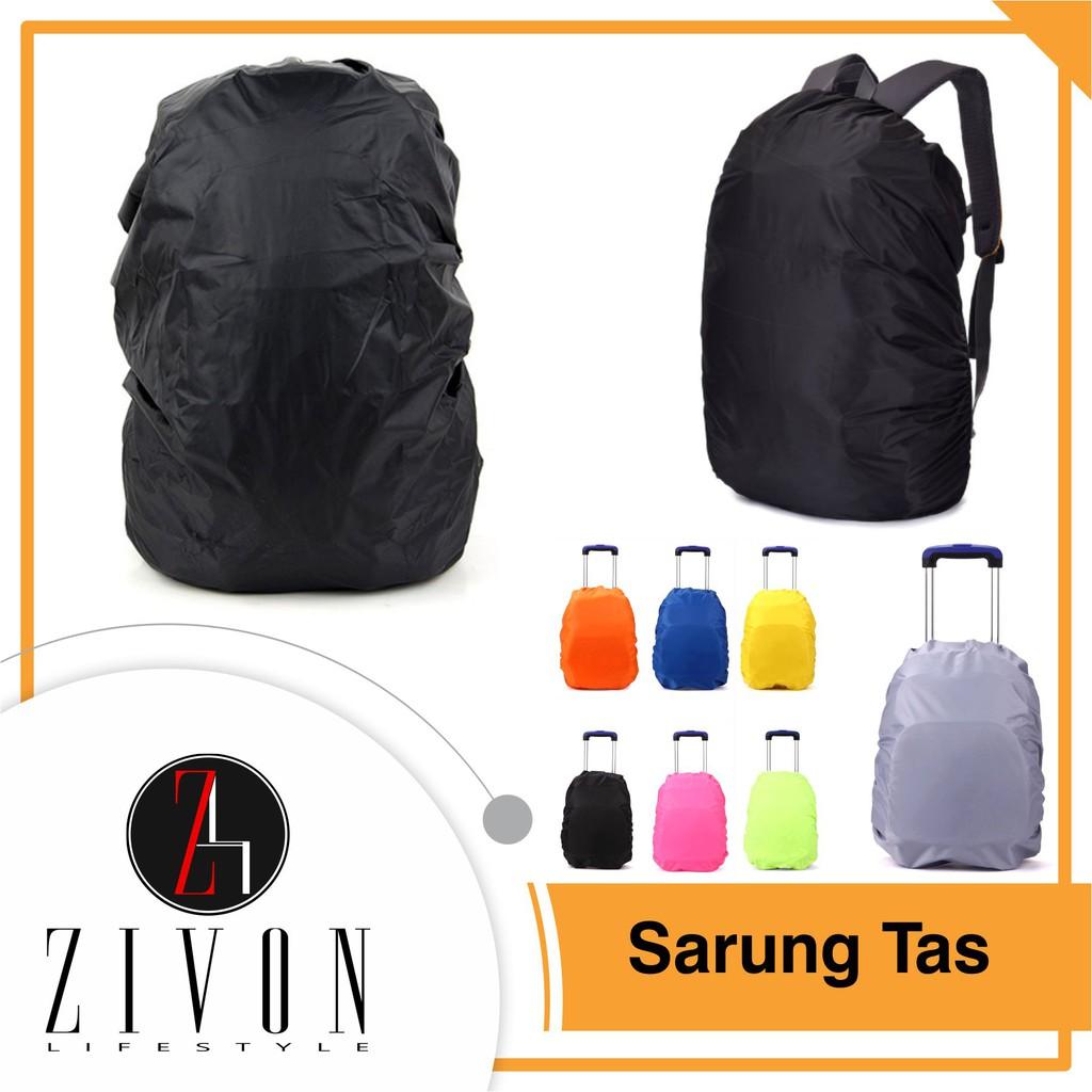 Rain Cover Bag Tas Sarung Anti Air Pakai Karet Rain Coat Waterproof