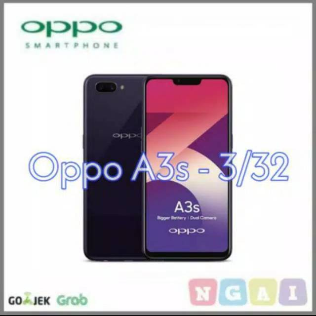 OPPO A3S 3/32 - DUAL SIMCARD - RAM 3 STORAGE 32GB | Shopee Indonesia