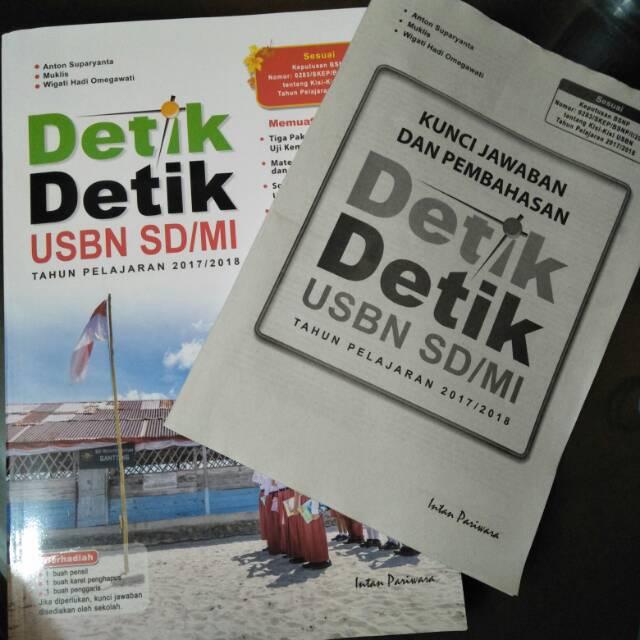 Buku Detik detik USBN SD/MI 2017/2018 Intan Pariwara + free kunci jawaban | Shopee Indonesia