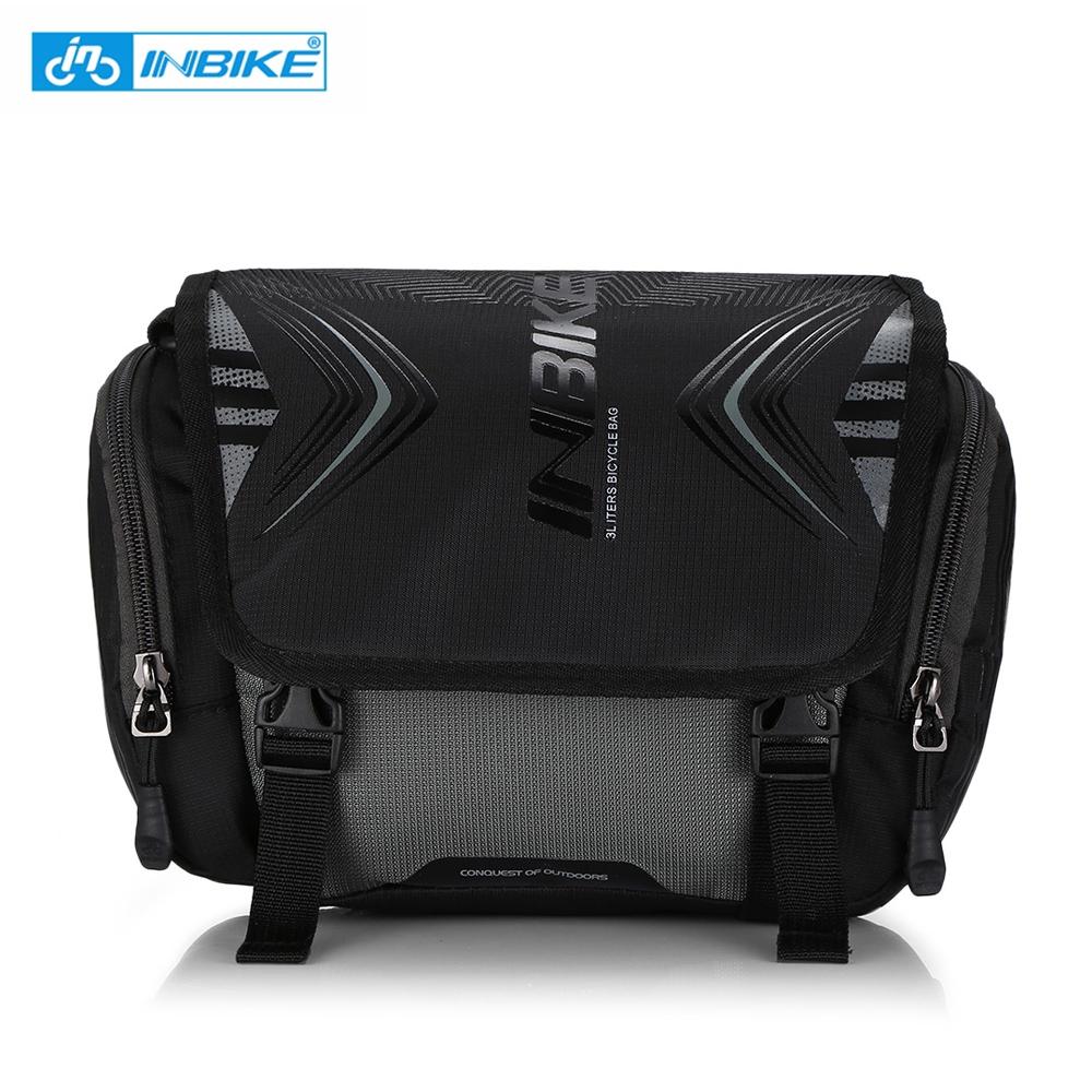 INBIKE Bike Bag Bicycle Handlebar Pocket Large Capacity Backpack New