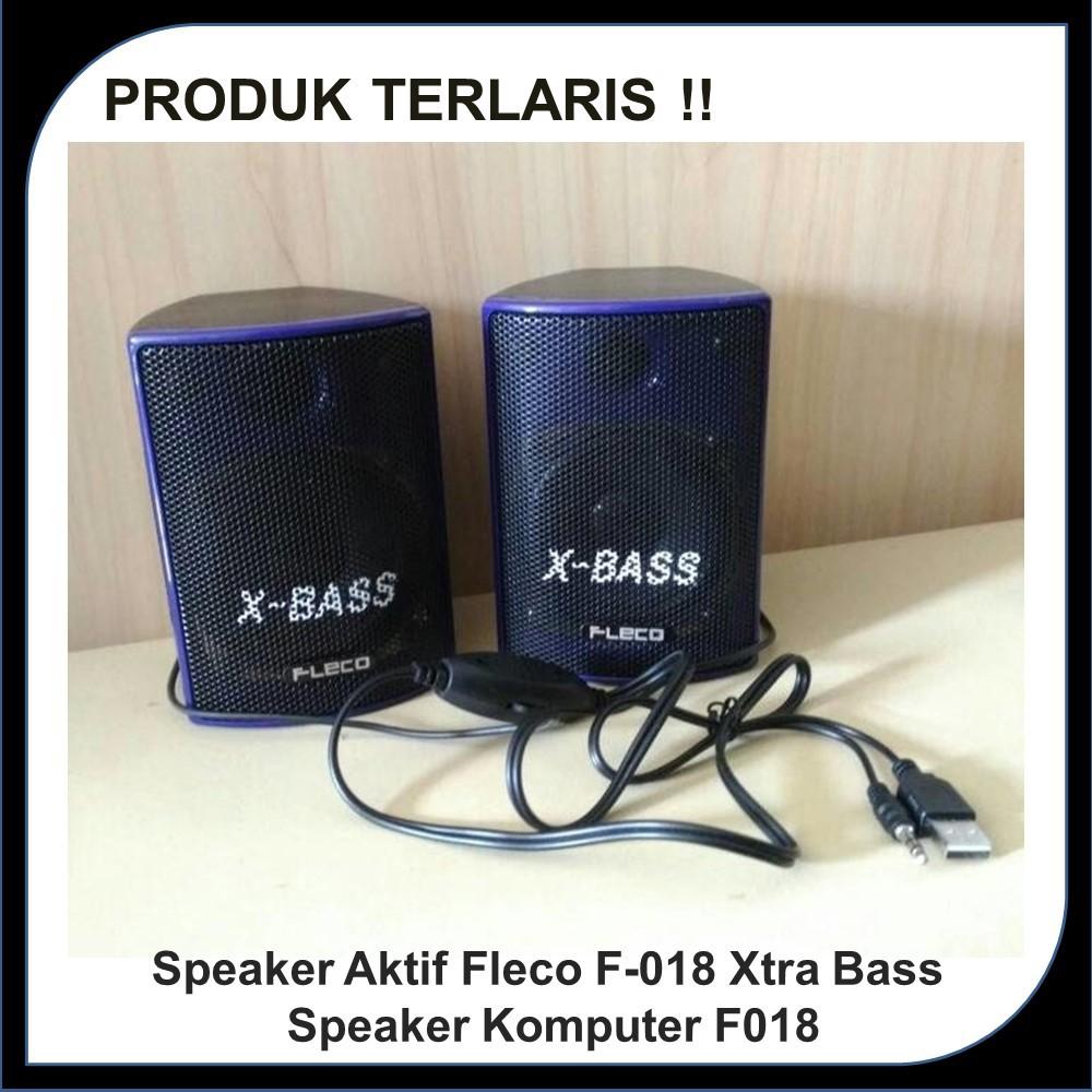 Speaker Multimedia Aktif Fleco F 017 F017 De034 Telaris Extra Super Sound Shopee Indonesia