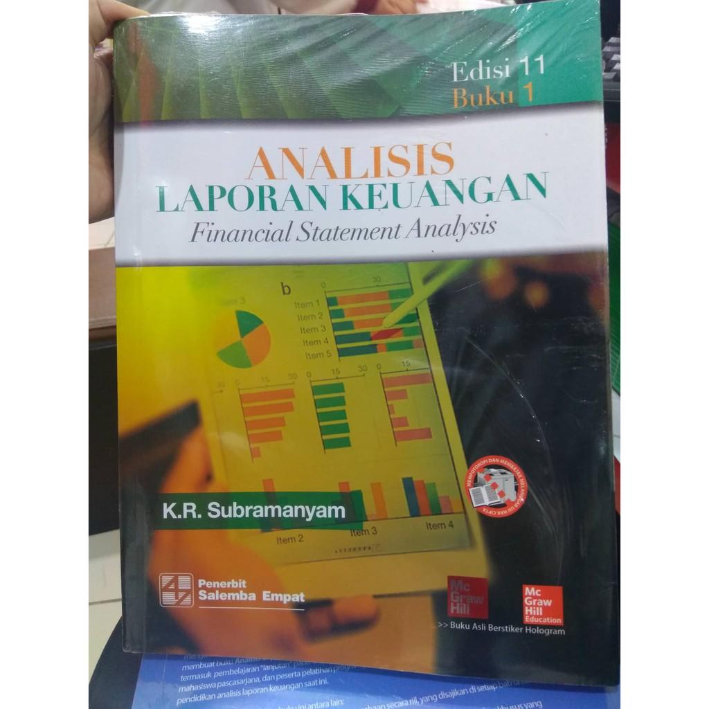 Analisis Kinerja Keuangan Shopee Indonesia Laporan Edisi 10 Buku 2 By Subramanyam