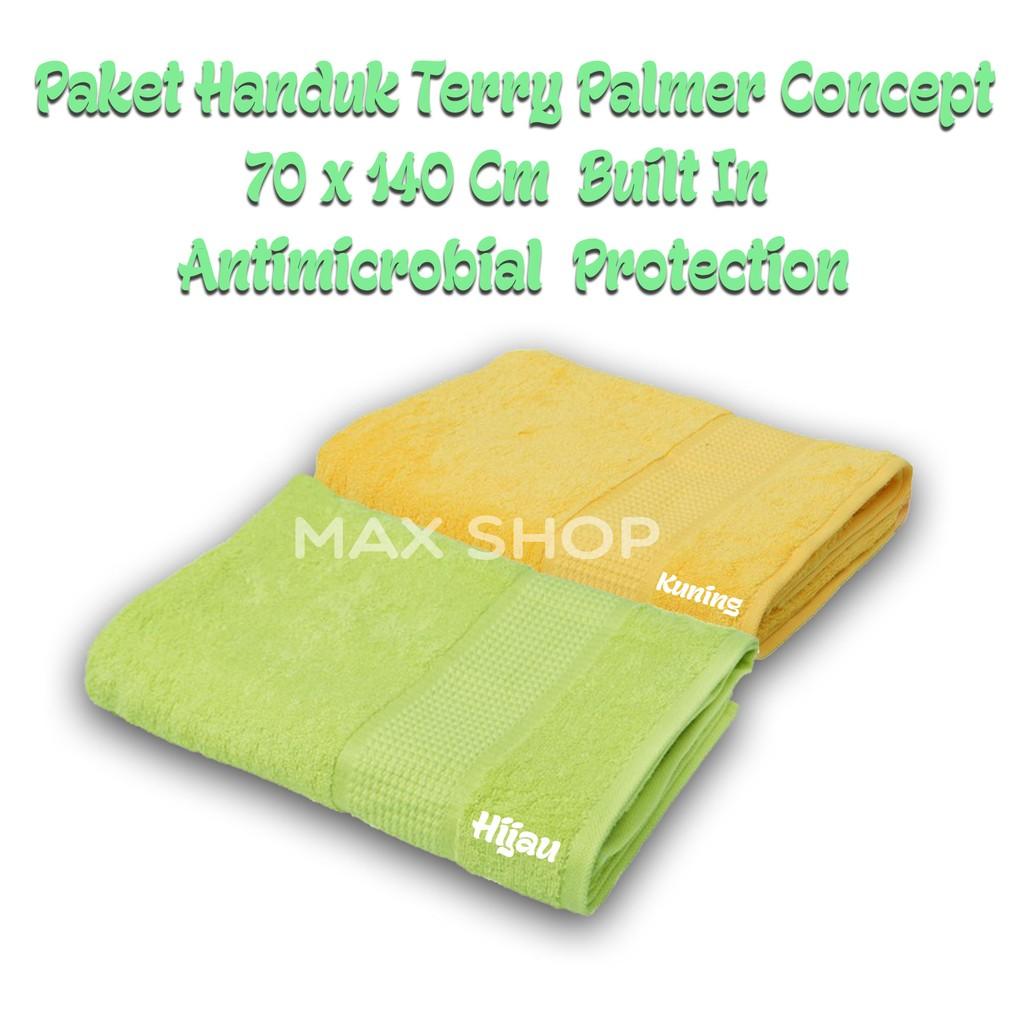 Terry Palmer Exclusive SET Handuk Mandi SET3-TX4055-40NN-NBU | Shopee Indonesia