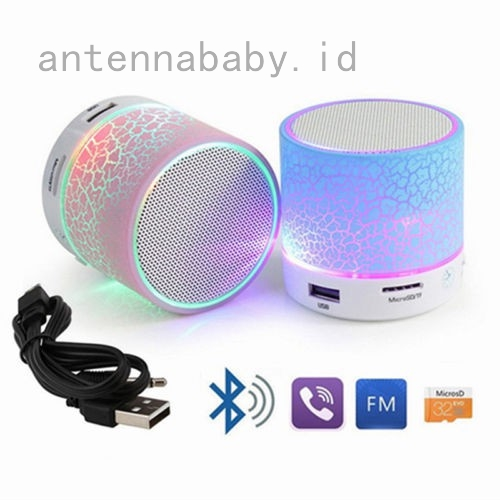 Rechargeable Bluetooth Wireless Mini Speaker for iPhone iPad MP3 and Computers