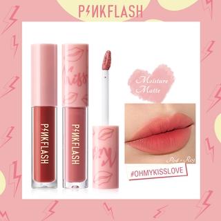 PINKFLASH OhMyKiss 2 Pieces Liquid Lipstick Soft Matte bitten lips look VE Moisturising Long Lasting thumbnail