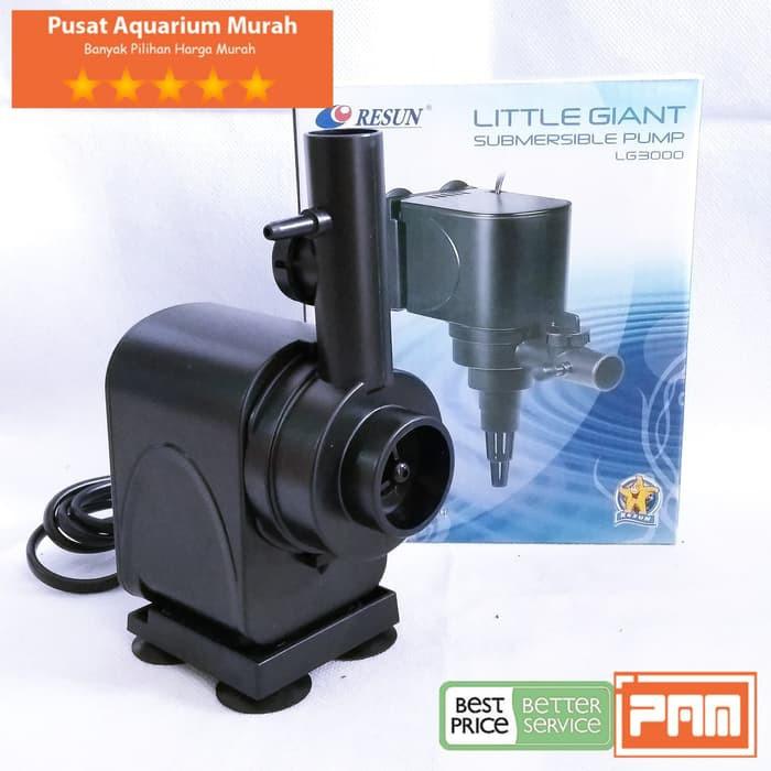 Pompa Aquarium Hidroponik Resun Lg 3000 LG3000 Little ...
