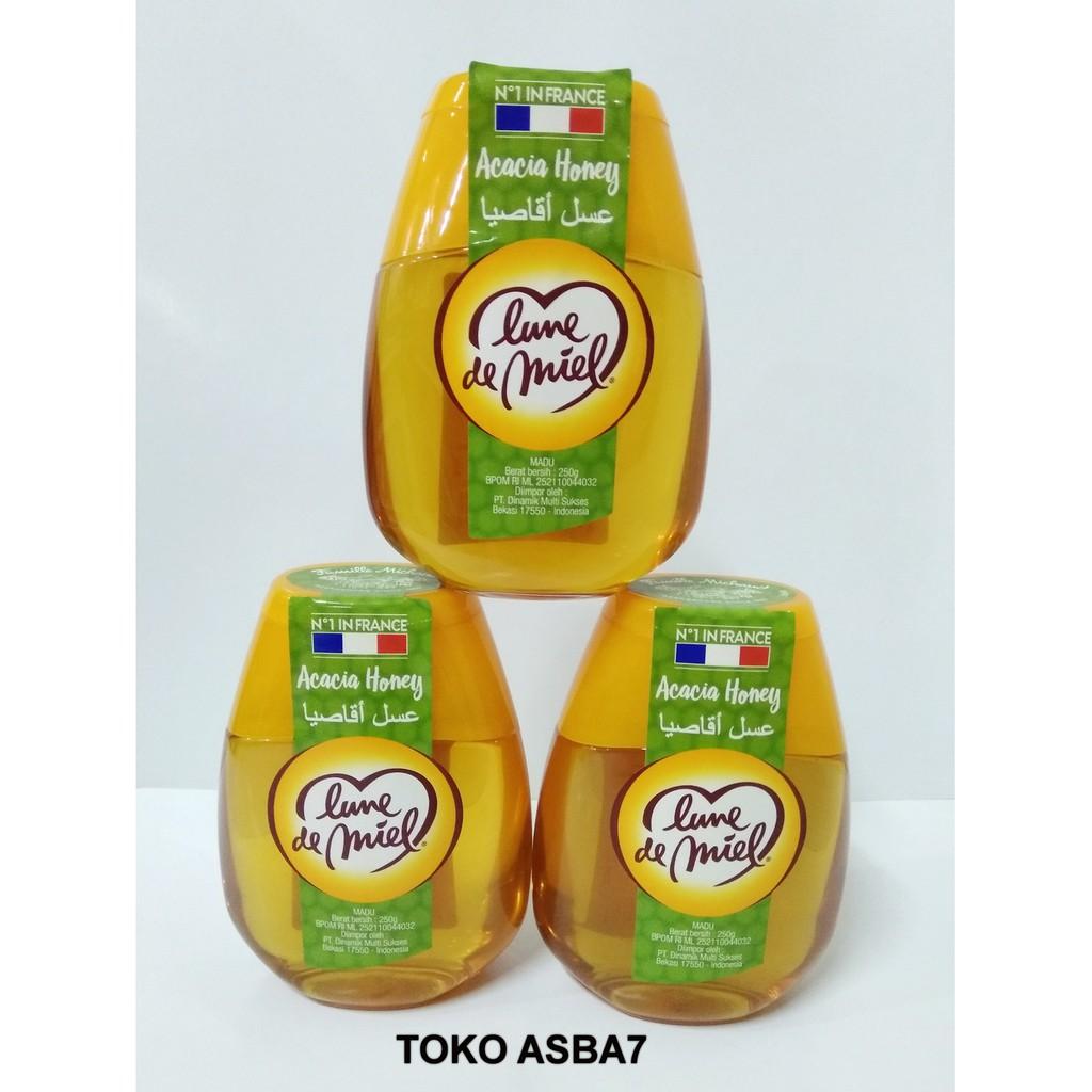 Luna De Miel Acacia Honey Madu 250gr Shopee Indonesia Alshifa 500gr