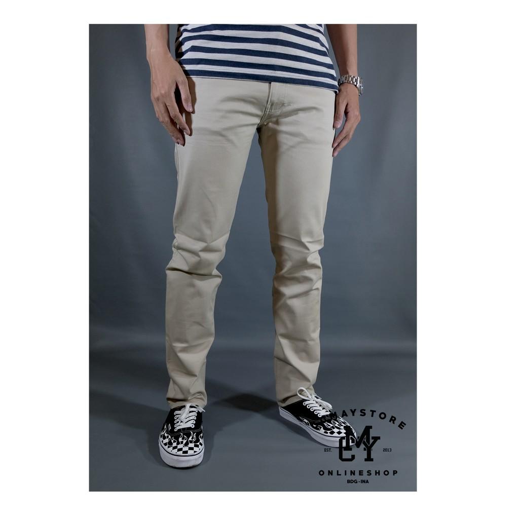[FM] pria Koreanstyle Celana Panjang Casual Bahan Linen | Shopee Indonesia