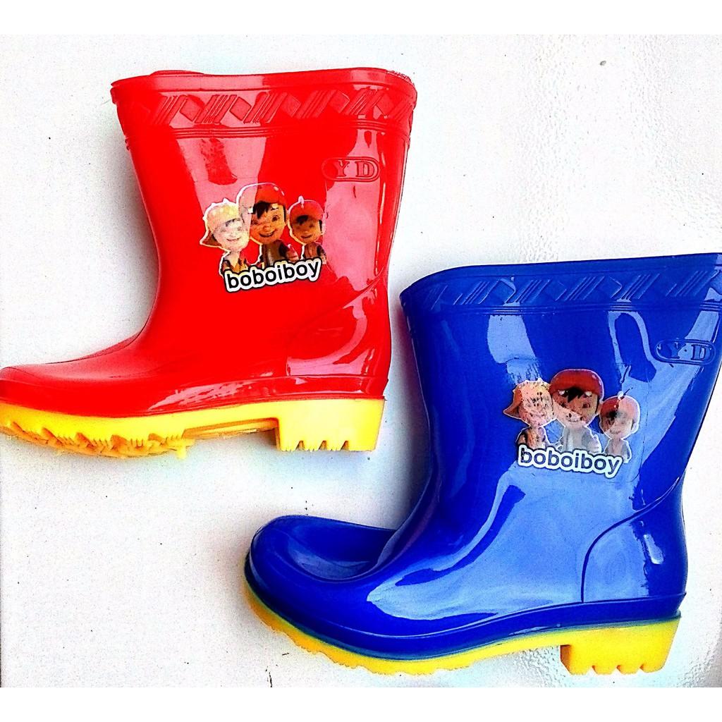 Sepatu Boots Boot Anak Anti Air Waterproof Shopee Indonesia Karet Pria Hitam Kedap