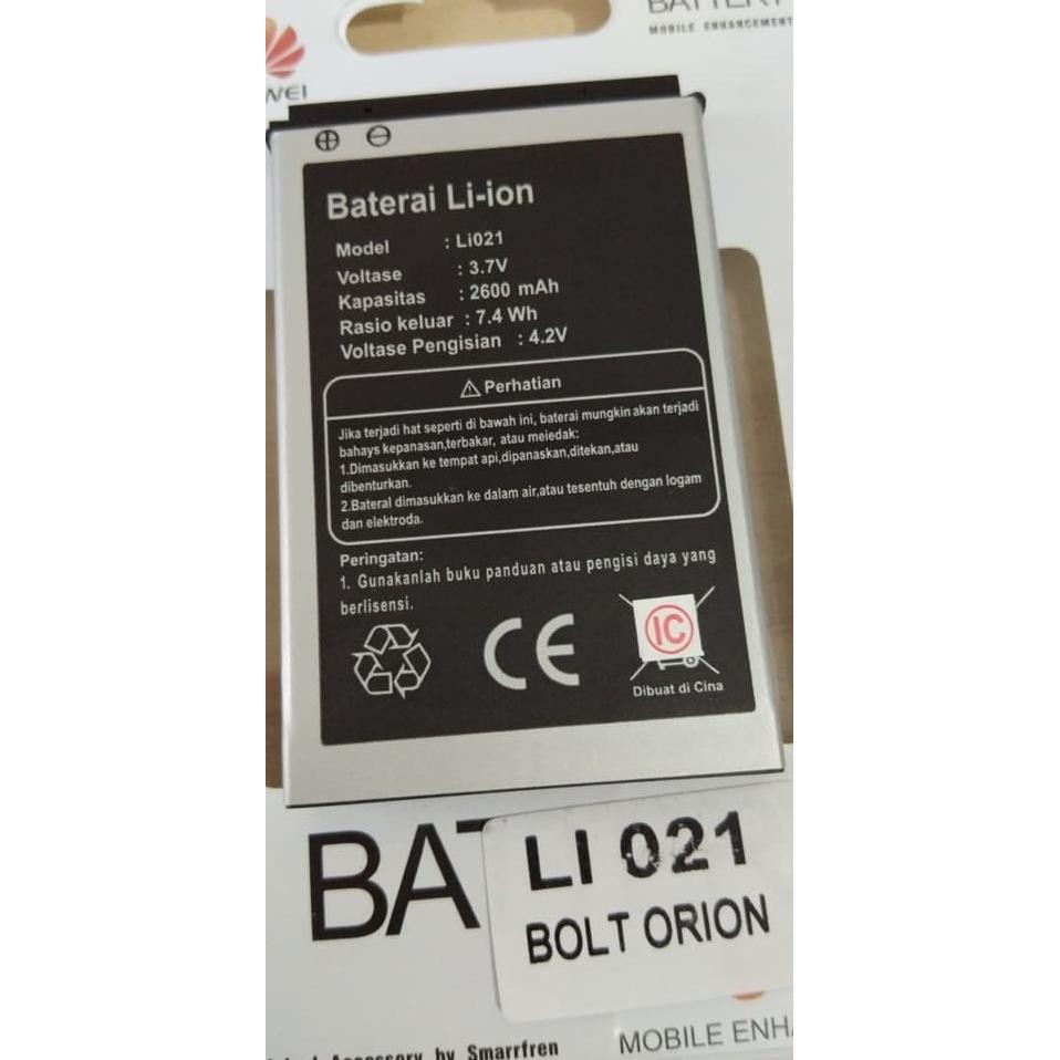 Baterai Battery Batre Modem Bolt Orion Movimax Mv1 Li021 | Shopee Indonesia