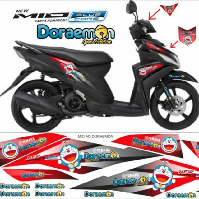Stiker Mio M3 Doraemon