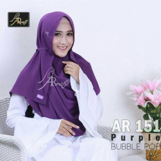 Pashmina Instan Terlaris By Ar Rafi 151 Hijab Jilbab Kerudung 1 Lubang Shopee Indonesia