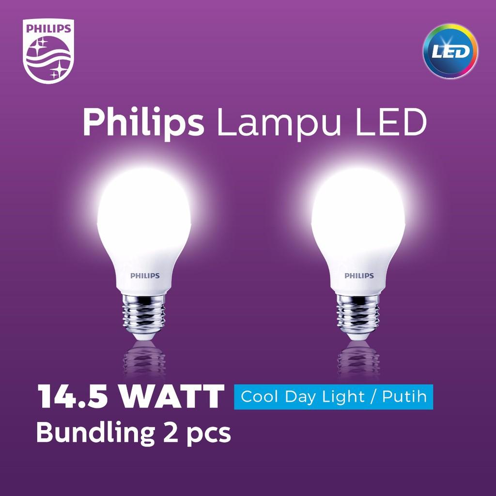 Philips Ledbulb 145 120w E27 3000k 230v Kuning 4pcs Shopee Indonesia 8 70w