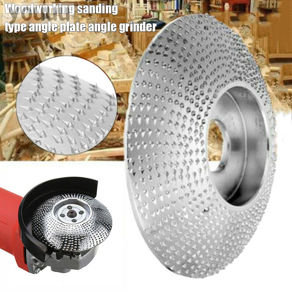84mm Carbide Wood Sanding Carving Shaping Disc For Angle Grinder Grinding Wheel