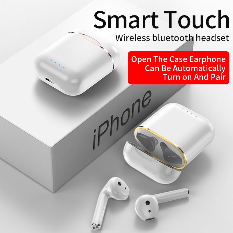 A28 Tws Bluetooth 5 0 Earphone Sport Handfree Headphones Mini In Ear Stereo Earbuds With Charging Box Headset Earphones For Iphone Xiaomi Samsung Oppo Shopee Indonesia