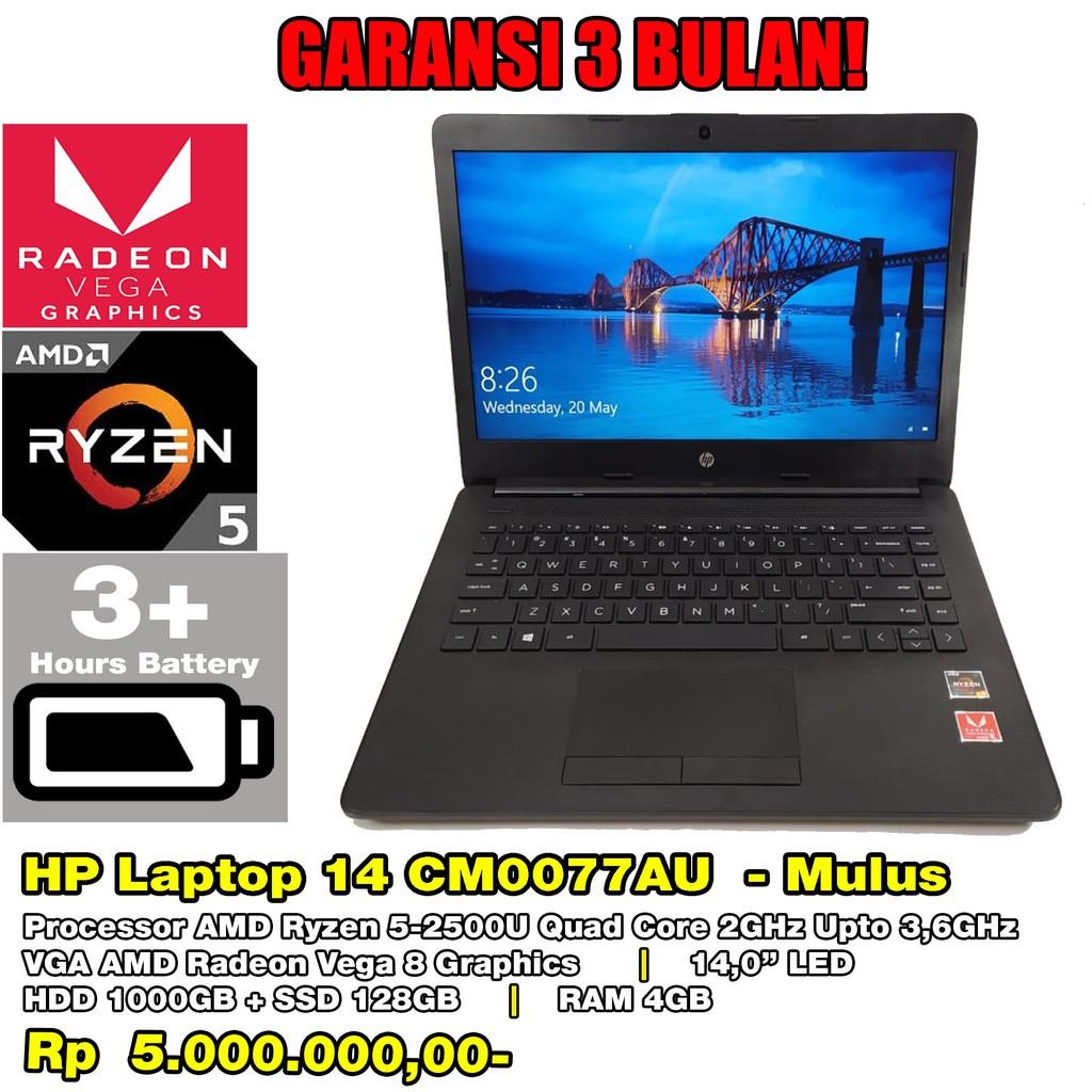 Laptop Bekas Hp Laptop 14 Cm0077au Mulus Masih Garansi Sampai Januari 2021 Shopee Indonesia