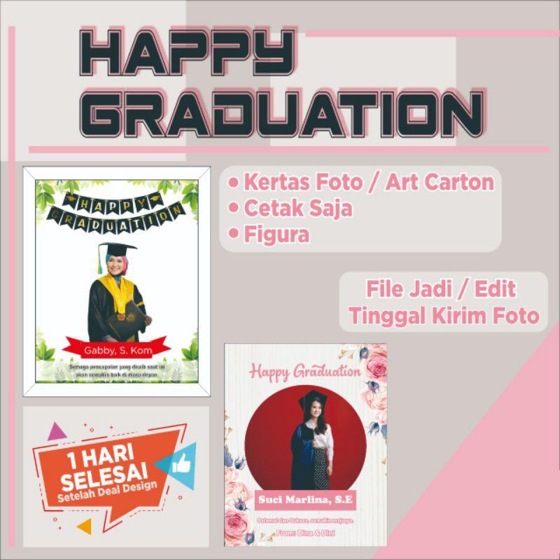 Ucapan Selamat Kelulusan Happy Graduation Figura Shopee Indonesia