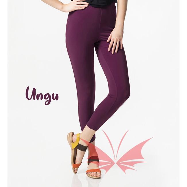 Flash Sale Termurah Legging Ungu Standar Fit To L Xl Leging Polos Ungu Standar Fit To L Xl Shopee Indonesia