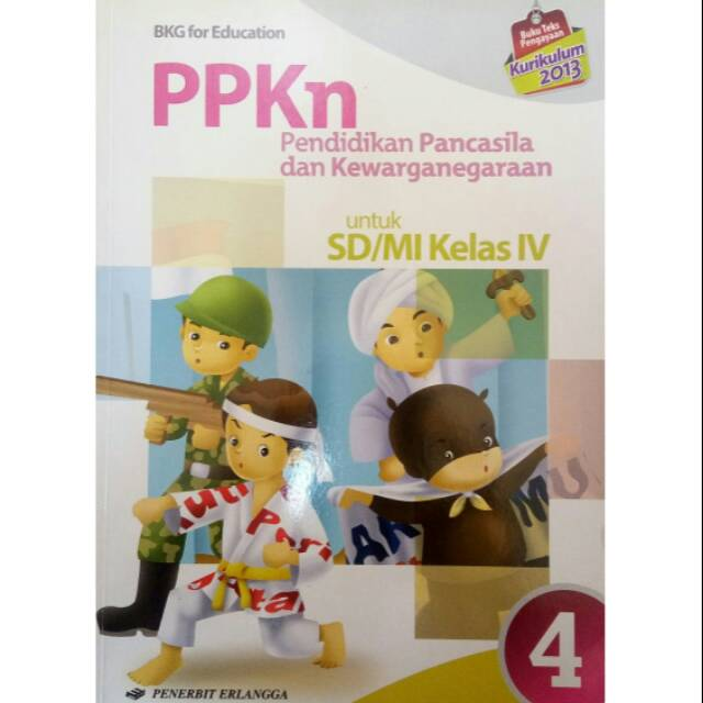 Ppkn Sd Kls 4 K13 Shopee Indonesia