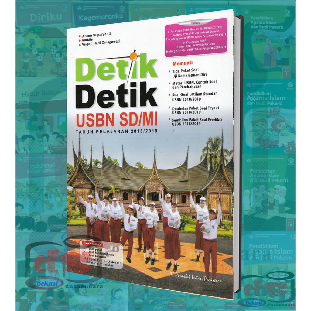 Buku Latihan Soal Detik Detik USBN SD 2018/2019 Untuk SD | Shopee Indonesia