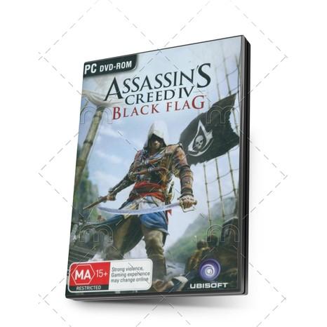 Dvd Pc Assassins Creed Iv Black Flag Jackdaw Edition Shopee