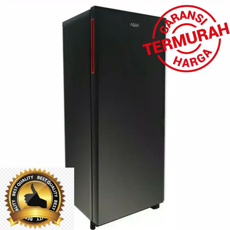 Kulkas 1 Pintu Aqua Aqr D191 Big Freezer Murah