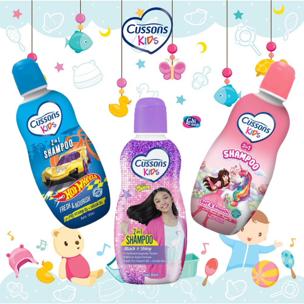 ORIGINAL Cussons Kids Shampoo 200ml & 100ml BPOM / Cussons Shampoo Anak / LEDI MART-1