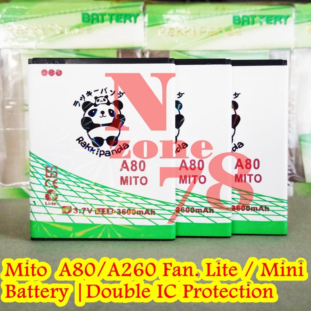 Baterai Mito A80 Fantasy Lite A260 Mini Double Ic Protection A99 Android Jellybean Ba 00083 Shopee Indonesia