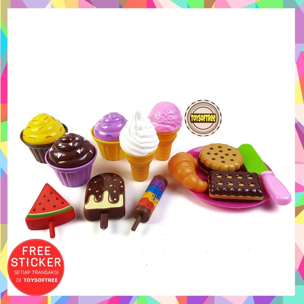 Mainan Es Krim Kue Mainan Anak Perempuan Pastry Paradise Ice Cream Shopee Indonesia