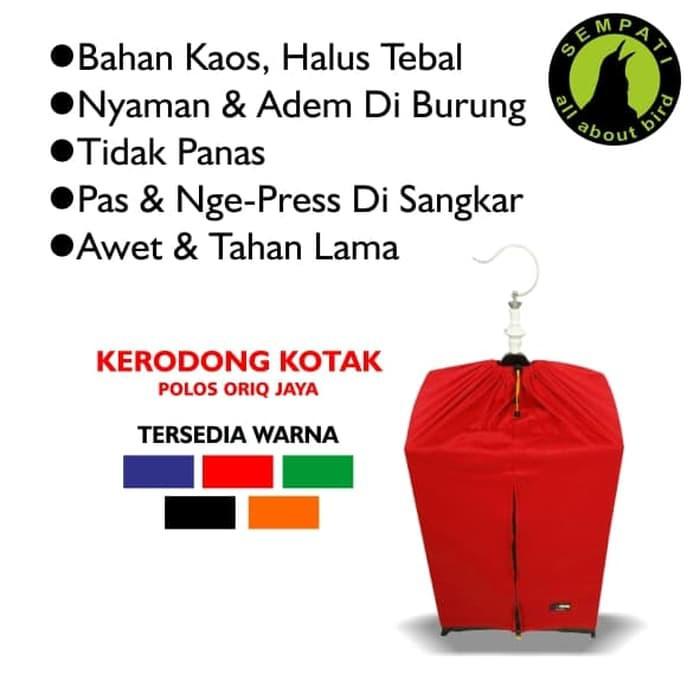 Harga Spesial Kerodong Sangkar Burung Murai Lomba Sablon No.1,2,3 Oriq Jaya Ja18 Kicau Mania | Shopee Indonesia