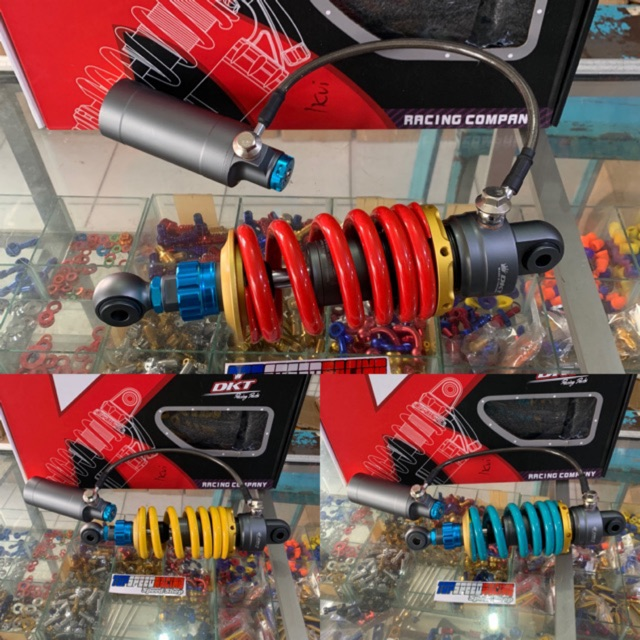 Monoshock shock tabung pisah DKT ninja RR/sonic old,CBR 150 OLD