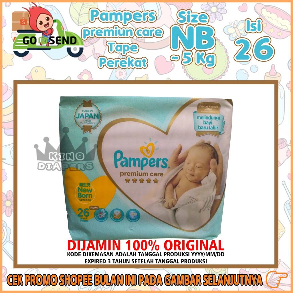 Murah Pampers Premium Care New Baby Tape Nb13 Nb 13 Popok Perekat 52 Bayi Baru Lahir Newborn Born Shopee Indonesia
