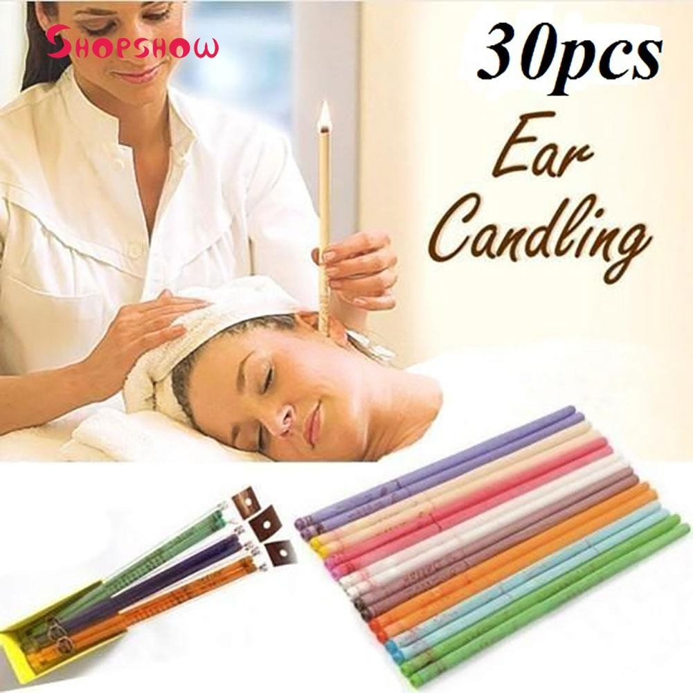 [COD]10Pcs Ear Candle/Lilin Terapi Pembersih Kotoran Telinga Bentuk Kerucut Multi Warna | Shopee Indonesia