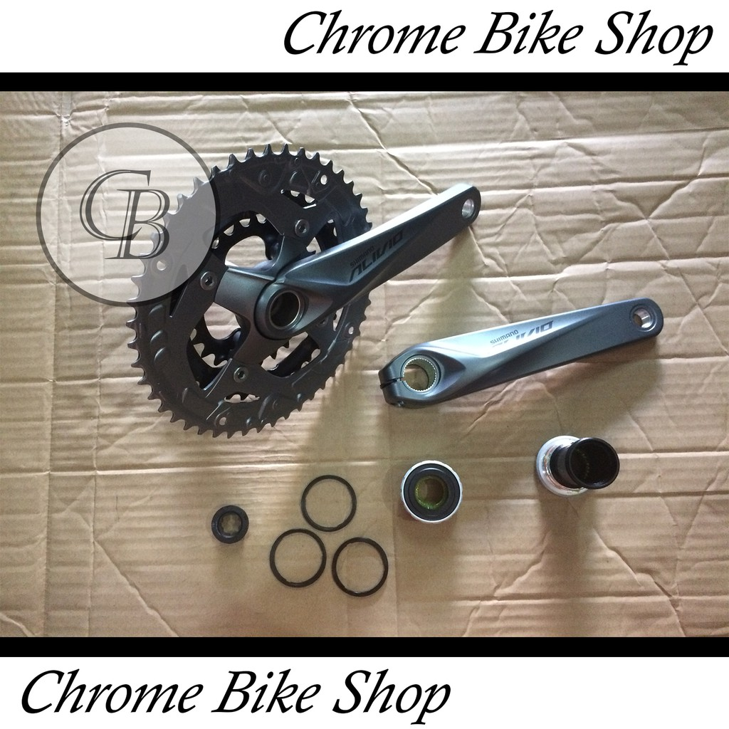 Crank Fixie Alloy Driveline 46t Shopee Indonesia