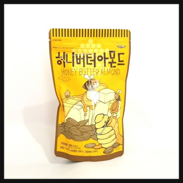Honey butter almond 210 gr toms