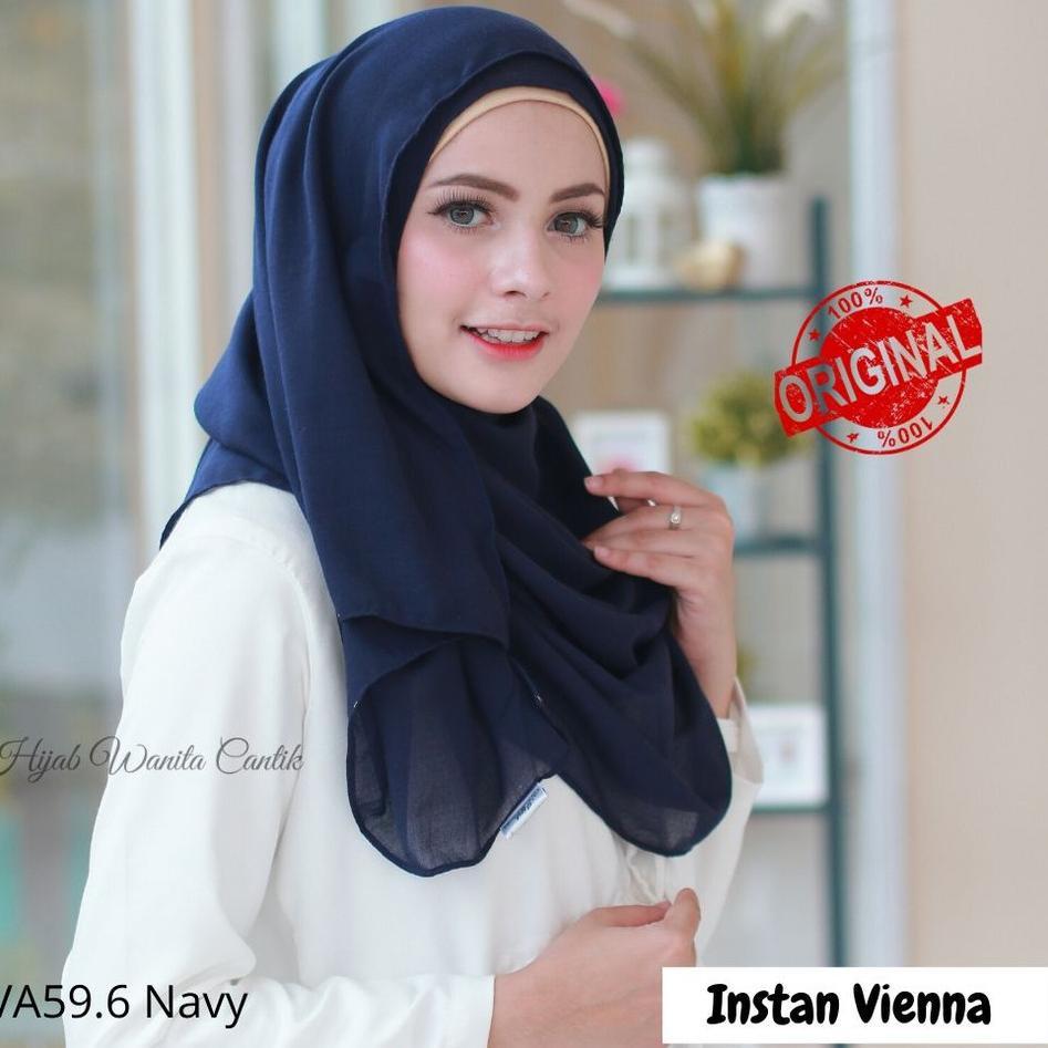 Special Price Hijabwanitacantik Ori Pashmina Instan Vienna Original Hijab Instan Jilbab Instan Shopee Indonesia