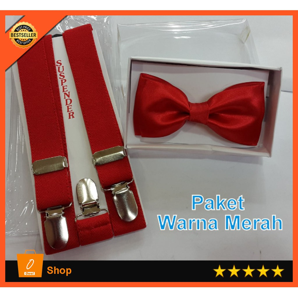 Dasi Kupu Anak Pita Bestman Pria Bowtie Polos Motif Wedding Best Man Polka Black Bow Tie Shopee Indonesia