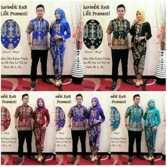 BAJU BATIK - batik couple / sarimbit batik / batik sarimbit Lilit Pramesti | Shopee Indonesia