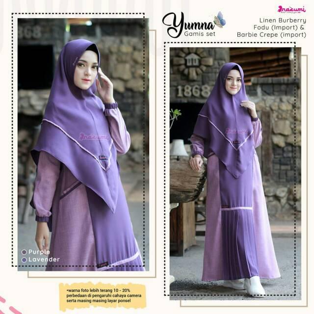 Yumna Syari Uk Xl By Nazumi Shopee Indonesia