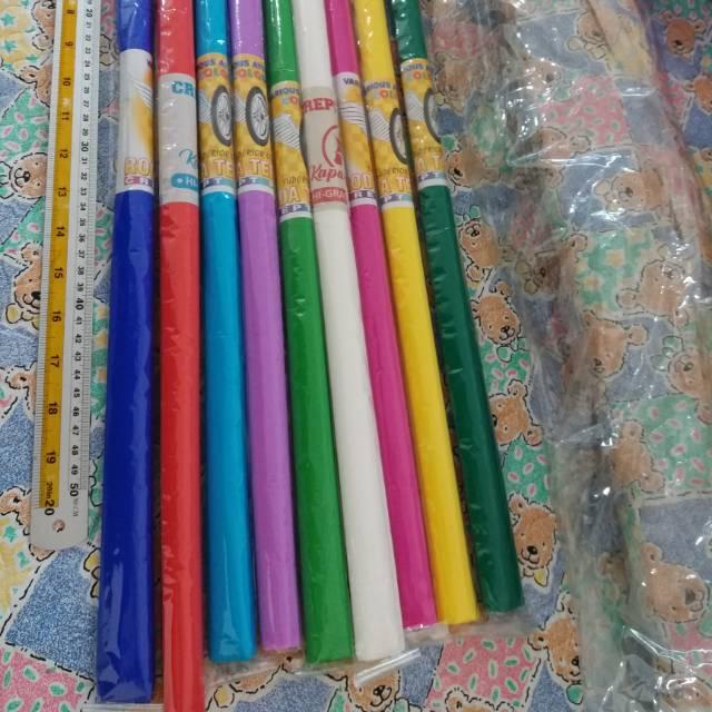 Kertas Crepe Kertas Sumbo Kertas Bunga Gift Wrapping 3 Lusin Rp 2 800 Shopee Indonesia