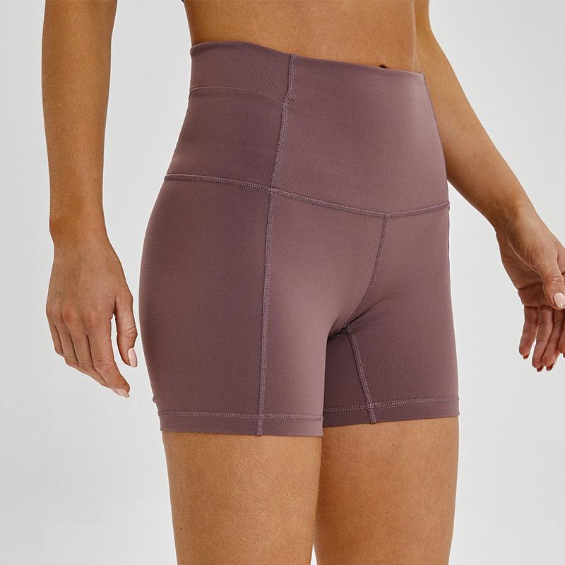 Celana Pendek Wanita Model Ketat Warna Peach Untuk Yoga Fitness Olahraga Shopee Indonesia