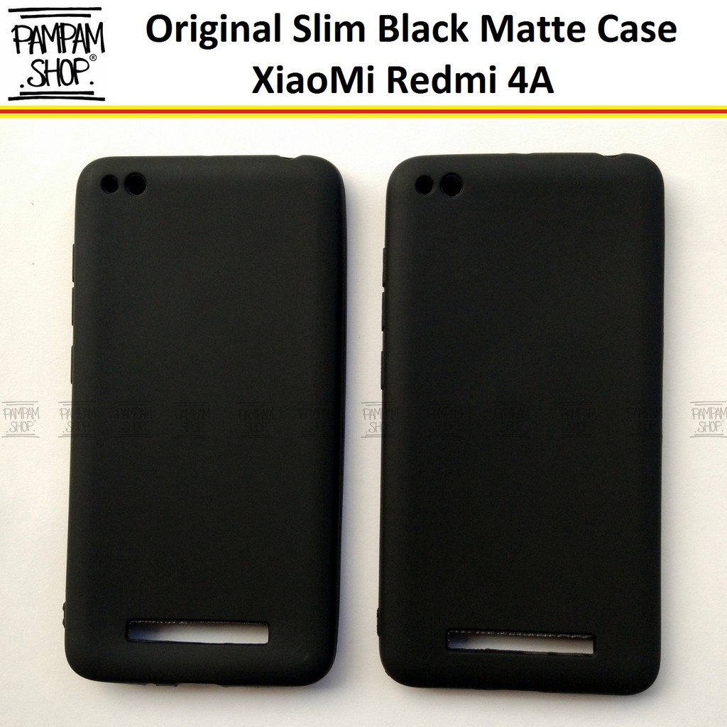 Gdc Ipaky Ultra Slim Black Matte Back Case For Xiaomi Redmi Note 5a Black