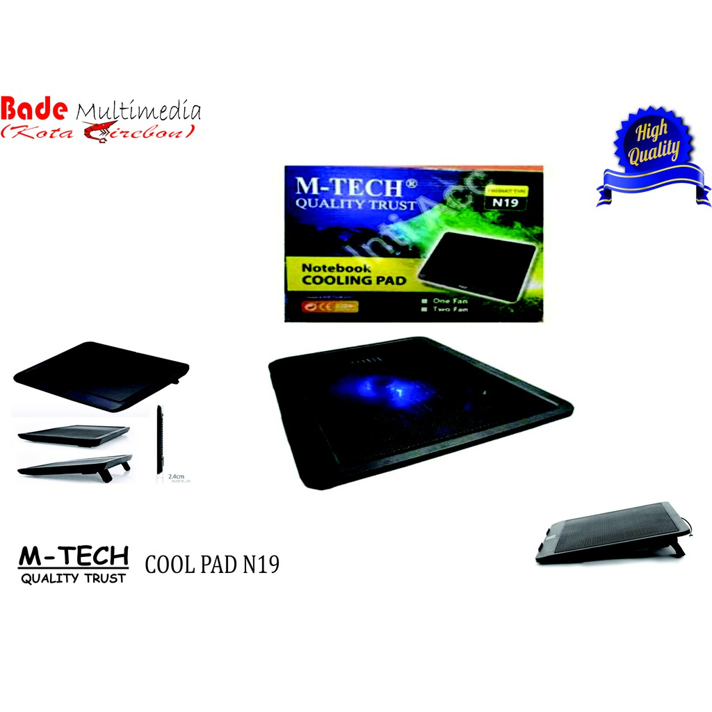 Kipas Pendingin Suhu Notbook-Laptop M-Tech MT 919 Cooling Pad Kepiting   Shopee