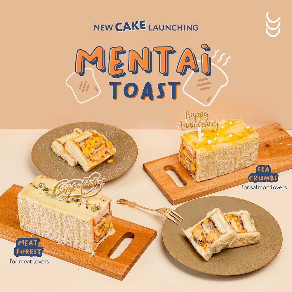 Mentai Toast Cake | birthday cake | mentai cake