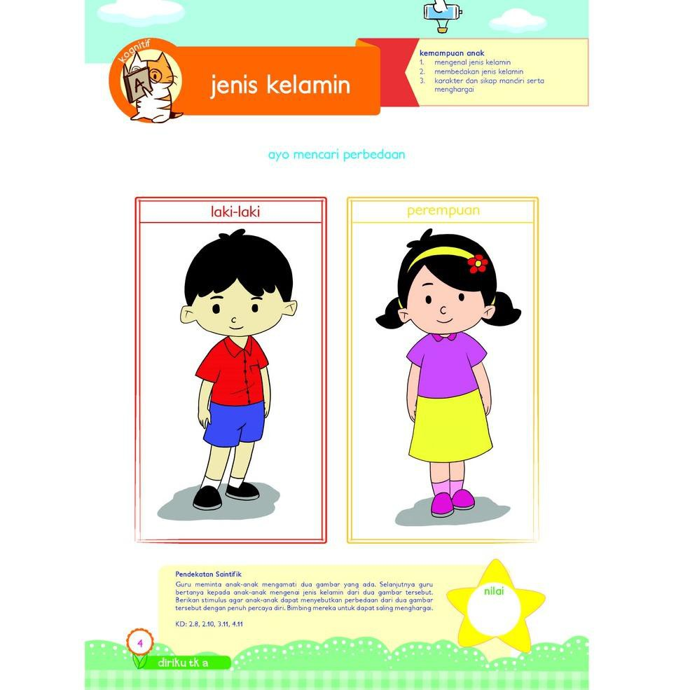 Mall Buku Paud Tk Tematik K13 Kelompok A Tema Diriku Shopee Indonesia
