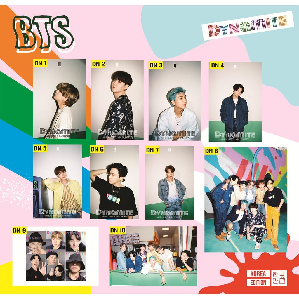 Langsung Cetak Poster Bts Dynamite Jungkook V Jimin Rm Suga J Hope Bangtan Boys Kpop Army Shopee Indonesia